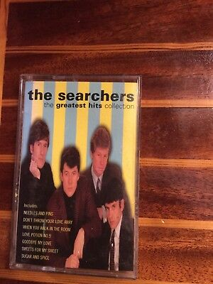 the searchers greatest hits cassette