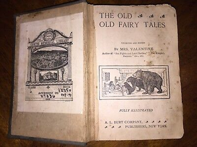 OLD, OLD FAIRY TALES, Late 1800s Early 1900's Edition  - Antique Collectible