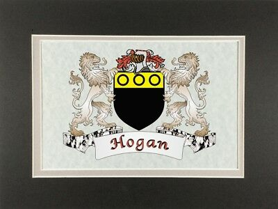 5e116bdbe9c HOGAN IRISH COAT of Arms Print - Frameable 9