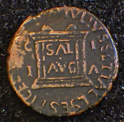 Ancient ROMAN COINS Collections:    TIBERIUS  (2nd emperor; 1st insane)