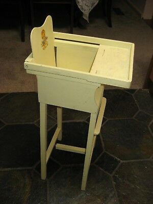 Small Dolls High Chair - Vintage