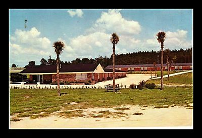 Dr Jim Stamps Us Lazy Lodge Motel Near Lake City Florida Chrome View Postcard