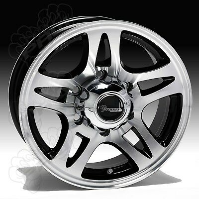 15X6 Alloy wheels to suit camper, caravan or trailer and boat trailer 5/114.3