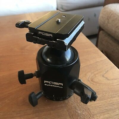 Foba Superball Tripod Head with Quick Release
