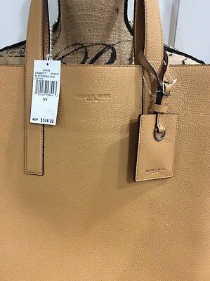 e519051b9ee297 MICHAEL KORS -MASON Reversible Embossed Leather Tote - BLACK/TAN ...