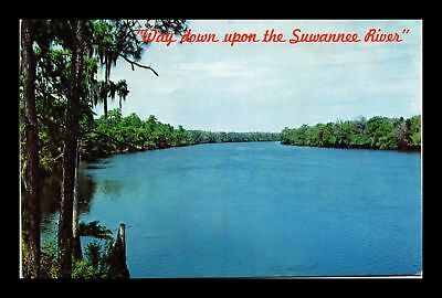 Dr Jim Stamps Us Florida Suwannee River Chrome View Postcard