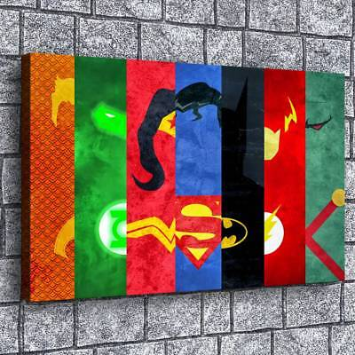 Super hero HD Canvas prints Painting Home Decor Picture Room Wall art 108708