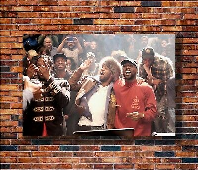 New Kanye West The Life Of Pablo Rap Super Star Poster -14x21 24x36 Art X-1471