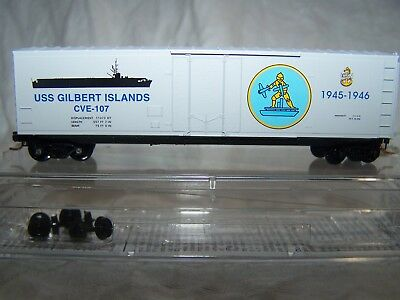 Micro-trains 038 00 406 Uss Gilbert Islands Navy Series #6 Boxcar New In Box Toys & Hobbies