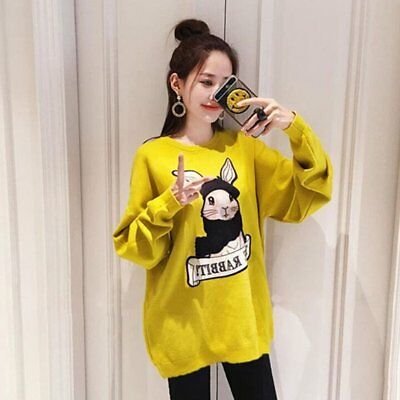 Autumn And Winter Girls Fashion Casual Velvet Sweater Long Sleeve Pullover KZ DL