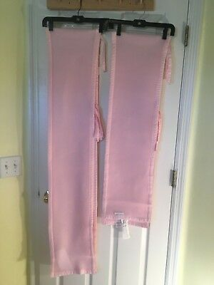 Breathable baby Brand Crib Bumper Pink Mesh Liner for baby Bed breath able EUC