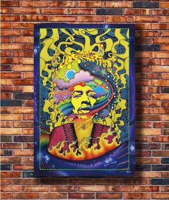 New Psychedelic Trippy Poster -14x21 24x36 Art Gift X-2275