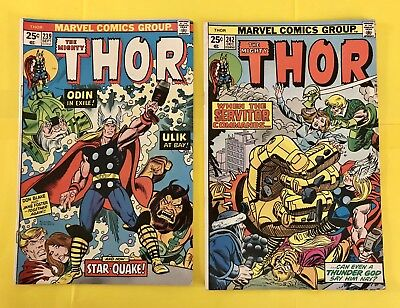 The Mighty Thor Comic #'s 239 & 242 (1975)