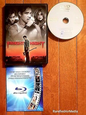 Fright Night (DVD, 2011) starring Colin Ferrell *Horror* FREE SHIPPING