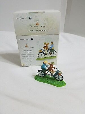 Dept 56 Seasons Bay A Bicycle Built for Two