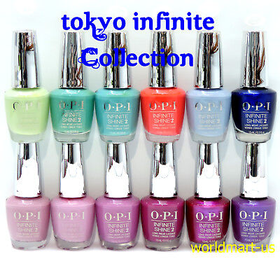 OPI Infinite Shine Nail Polish TOKYO Collection Set of 12 Colors