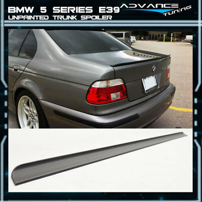 M5 Style Carbon Fiber Trunk Lip Spoiler Wing for BMW E39 5-Series Sedan 97-03 HO