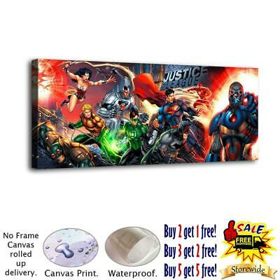 """12""""x30""""Super hero HD Canvas prints Painting Home Decor Picture Room Wall art"""