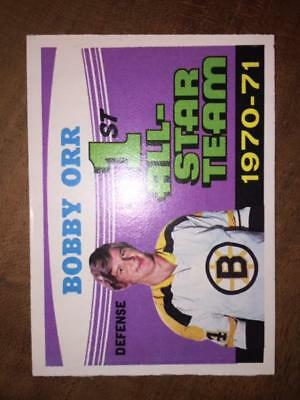 1971-72 OPC Bobby Orr #251 1st All-Star Team Boston Bruins Star Hall of Fame