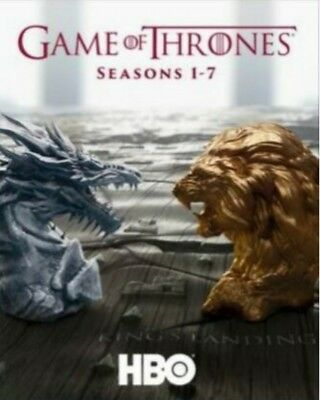 Game of Thrones on Bluray Season 1 2 3 4 5 6 7 1-6 1-7  region free