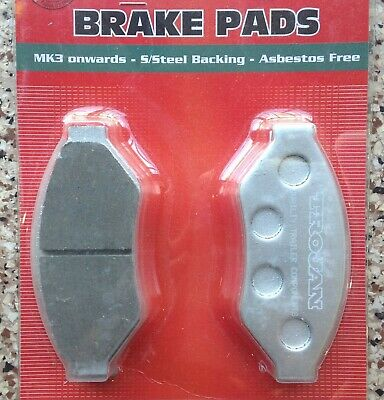 Brake Pads Stainless Steel Back Suit Hydraulic Calipers Trojan