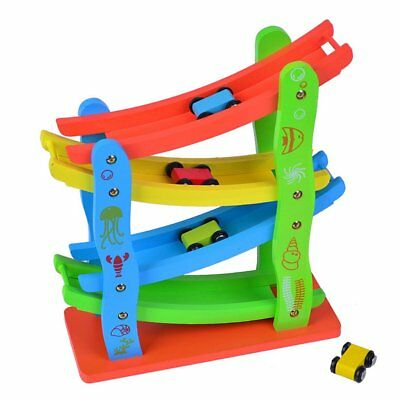 Wooden Children's Puzzle Early Education Toy Inertia Track K0