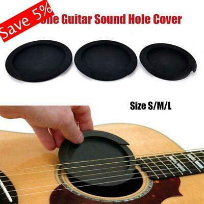 Guitar Parts Silicone Acoustic Sound Hole Cover Buffer Block Feedback buster