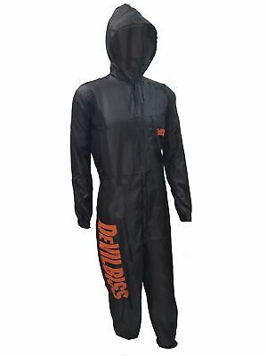 DeVilbiss Black Reusable Coveralls Spray Painting Overalls Automotive Suit
