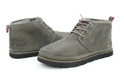 ea384cdf879 UGG FOR MEN Boots Neumel Waterproof Leather / Wool Charcoal Grey US Size 12  US
