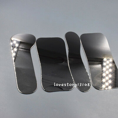 4 Pcs Dental Stainless Steel Intra-oral Orthodontic Reflector Photography Mirror