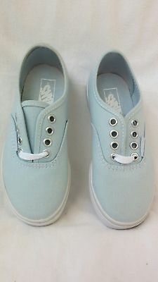 a6855f09219 VANS YOUTH AUTHENTIC Lo Pro Sneaker Shoe Aqua Splash Little Kid Size ...