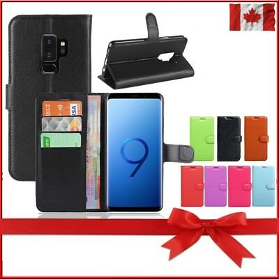 Wallet Leather Cardholder Flip Case Cover For Samsung Galaxy S9+ Plus