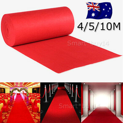 Red Carpet Runner Party Wedding Hollywood Awards Night Casino Decoration AU