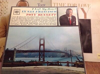 Job lot 6 Various Tony Bennett LPs ALBUMS ... Cheap POSTAGE Within the UK