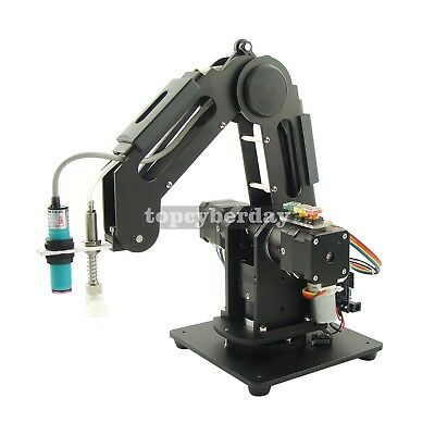 Mechanical Robot Arm 3-Axis Desktop Production Line Carry Aluminum Alloy 6061
