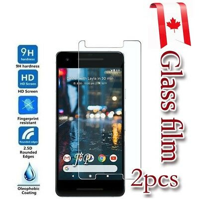 2x For Google Pixel 2 Tempered Glass LCD Screen Protector Guard Film