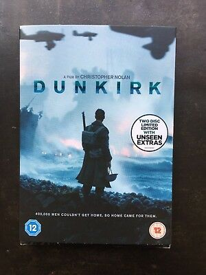Brand New, Wrapped Dunkirk (DVD) (2017) 2 disc limited edition