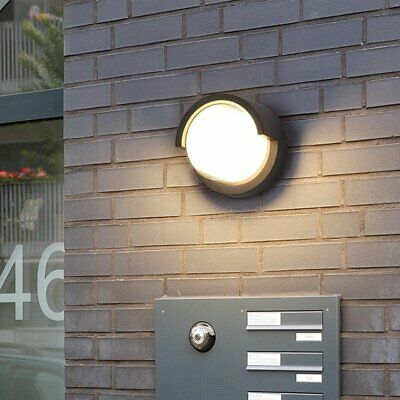 Outside Outdoor 10W Waterproof IP65 LED Wall Light Fitting Porch Garden Lighting