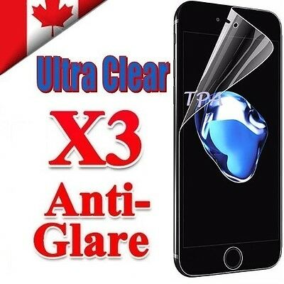 3X Clear & Anti Glare Matte Screen Protector Film For Apple iPhone 7 Plus