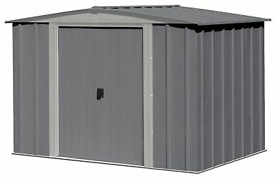 Arrow Steel Garden Shed Dark Grey 2 Tone - 8 x 6ft .*