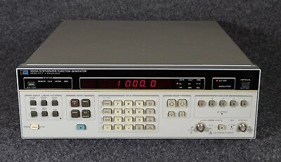 Hp 3325A Synthesizer / Function Generator