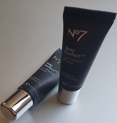 RRP £9.50 Boots No7 Stay Perfect Eye Shadow Primer Base 10ml FULL SIZE