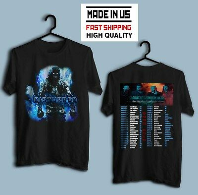 Disturbed Evolution World Tour 2019 Size S - 5XL