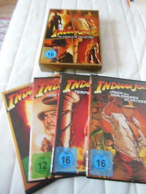 Indiana Jones DVDs - alle vier Teile - The complete Collection