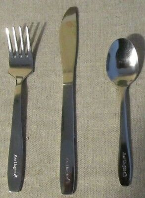Set of 3 Aer Lingus Irish Airlines Silverware - Flatware Knife, Fork & Spoon NEW