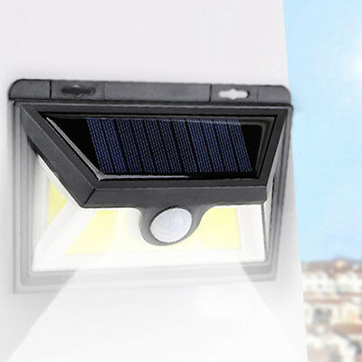 95 LED Solar Luz de Pared Impermeable Sensor de Movimiento Lámpara Exterior