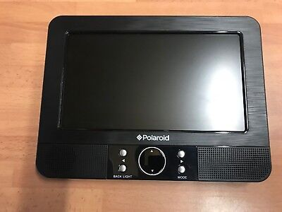 "Polaroid 7"" Replacement Screen for Dual Headrest DVD Player - Mirror Screen Only"