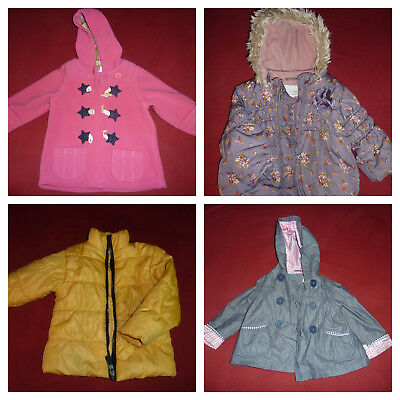 winter baby child girls parka padded coat jacket Raincoats Outerwear Next &other