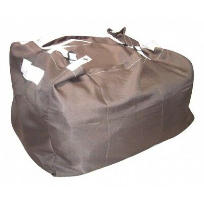 BROWN ULTRA STRONG Laundry Hamper Sack COMMERCIAL GRADE Linen Buckle and strap