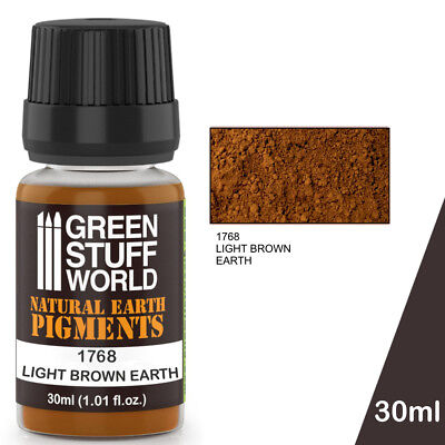 Pigmento LIGHT BROWN EARTH - Natural Marron Polvo Pintura Modelismo Miniaturas